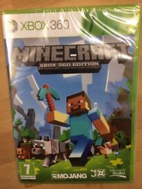 Minecraft for Xbox 360 - New, still in cellophane