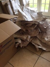 Free packing materials