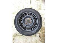 195 60 r 15 88v spare wheel with Pirelli P6000 tyre