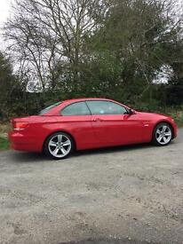 BMW 330d sport hard top convertible