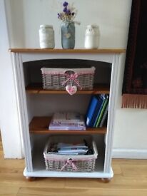 Beautiful hand painted bookcase