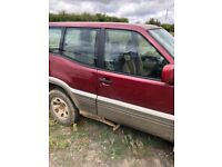 Nissan terrano spares or repairs