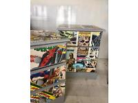 2 retro comic style bedside tables