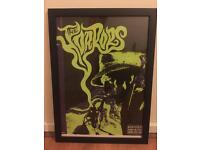 The Horrors poster and frame