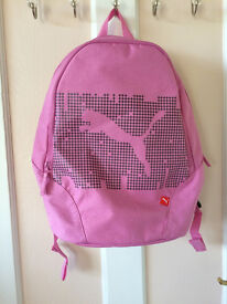 pink rucksack