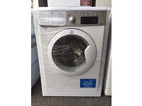 INDESIT free standing washing machine 8 kg display model nice condition & fully working order