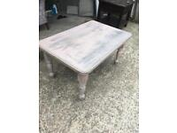 Stained Pink coffee table