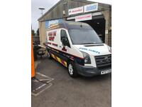 Mobile Tyre Fitting Van