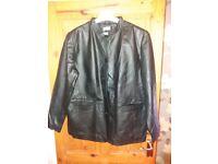 Ladies lovely leather jacket