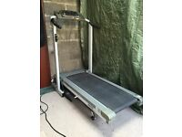 Treadmill. Trimline 4650, Folding running machine. Must be collected.