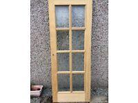 Oak 8 panelled internal door