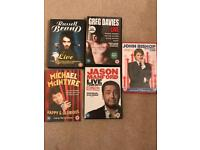 Stand up comedy DVDs all 5 for £10