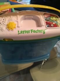 Leap Frog, Letter Factory