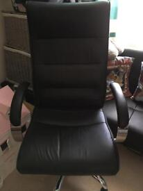 Leather chair from M&S