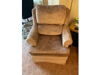 Settee and 2 arm chairs FREE