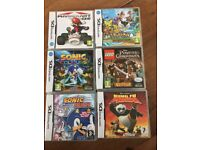 DS GAMES - SOME BOXED SOME NOT