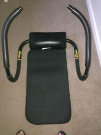 Crunch Trainer: (Weider) with full user manual.