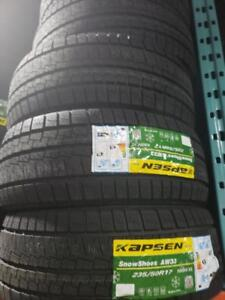 4 winter tires icemax new 235/50r17  neufs