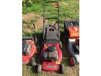 Spares and repairs lawnmowers
