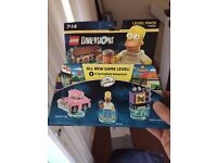 PS4 Lego Dimensions Simpsons Level Pack NEW