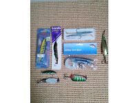 Fishing Lures including ABU