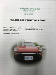 1979 Triumph Spitfire must sell