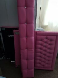 Girls pink princess bed 80 pound