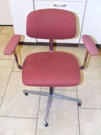 Swivel Office / Study Armchair