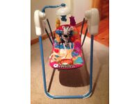Fisher Price Musical Baby Seat and Swing