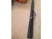 KIS Ski Tube Sportube S2, Fishing Rod Ski Carrier, Case - black