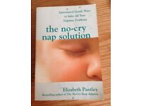 The no-cry nap solution, Elizabeth Pantley