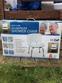 aluminum shower chair