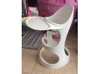 Ikea white high chair