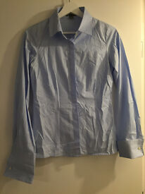 Shirt (blue, Gap, size 10, very good condition)
