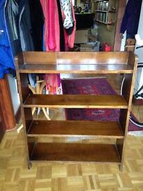 FREE Solid wood book case