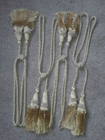 4 x Curtain Tie Back Cords