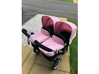 Bugaboo Donkey Twin/Single pram - excellent condition, hardly used