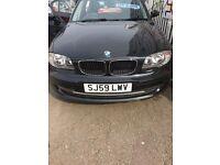 BMW 116I SPORT 2 LITRE ENGINE BLACK