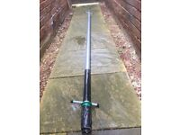 Aluminum washing pole, line and metal stake/ fixings... House move prompts sale..