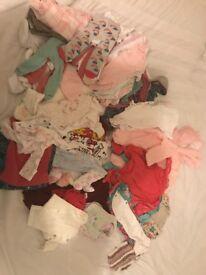 Big newborn baby clothes bundle £20