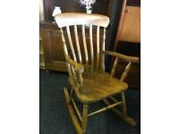 Rocking chair can deliver
