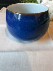 Denby imperial blue sugar bowl immaculate