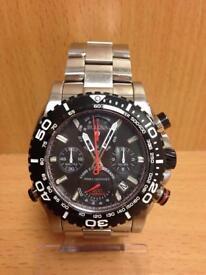 Gents Bulova Precisionist Chronograph Watch