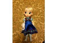 Princess Elsa Toddler Doll