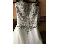 Crystal Wedding Dress size 6-8