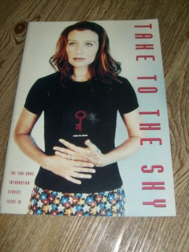 Tori Amos Take to the Sky Fanzine Booklet  #10  November 1996