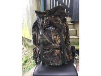 Nevis carp fishing rucksack 70ltr like new