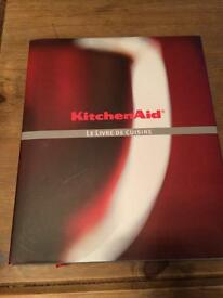 Kitchen aid recipe book - in French