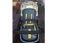 Pram and carry cot/Buggy /car seat the lot...