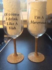 Wine glass gift